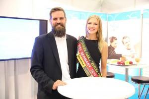 Miss Germany zu Besuch auf der Zukunft Personal