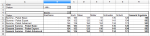 Pivot Tabelle 7