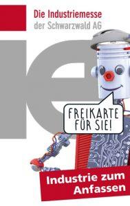 Industriemesse i+e Freiburg | kostenfreies Ticket