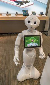 Pepper der humanoide Roboter 1