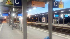 Wanna-Cry Hauptbahnhof Aschaffenburg