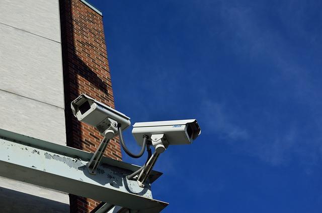 Überwachungskameras nutzten vernetzte Systeme