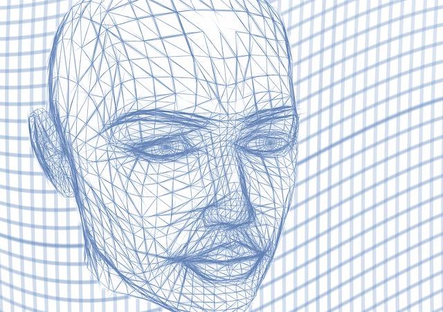 Gesichtserkennung beobachtet Nutzer