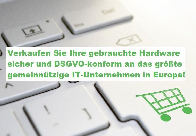 Gebrauchte IT - Hardware verkaufen