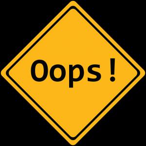 Angst vor Fehlern bei der DSGVO
