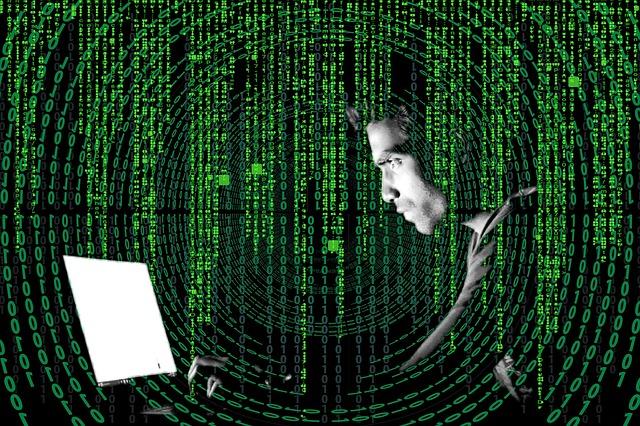 Hacker beim Phishing