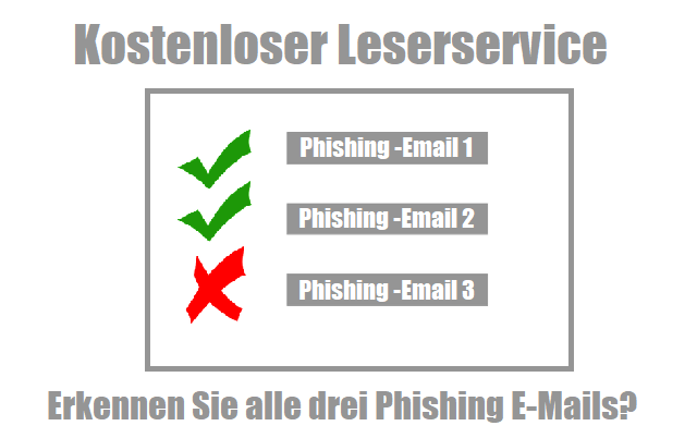 Phishing-Test-Angebot