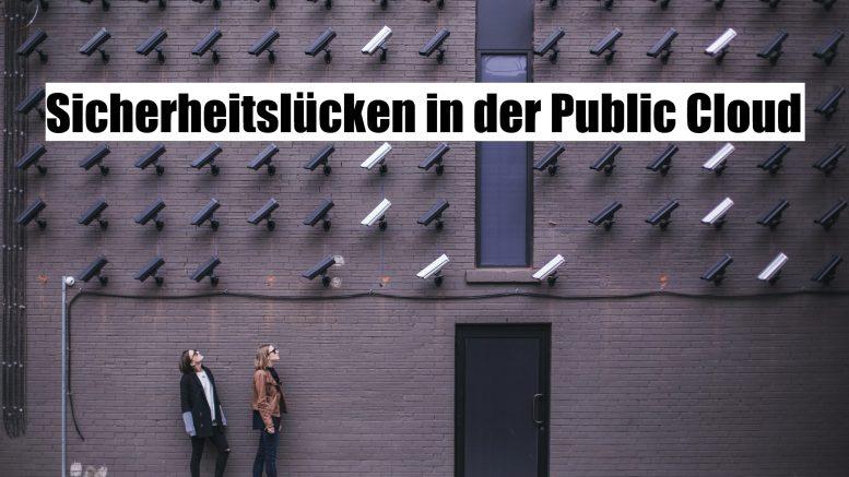 Sicherheitslücken-Public Cloud