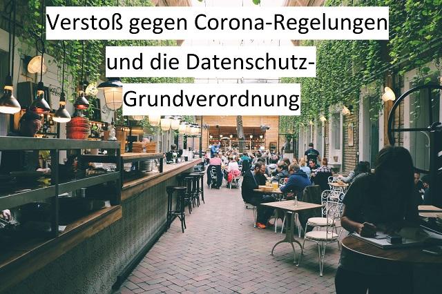 Umfrage Corona-Pflichtangaben bei Gastronomie-Besuch
