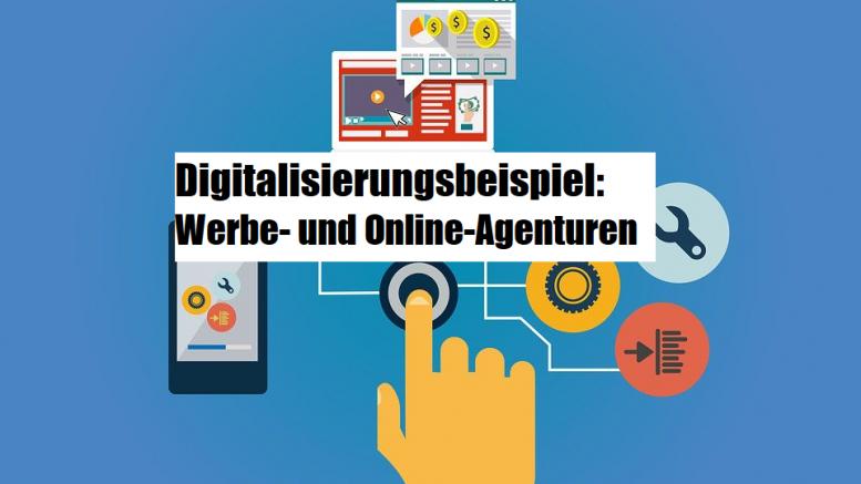 Digitalisierungsbeispiel-Agenturmarkt