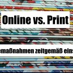 Online vs. Print